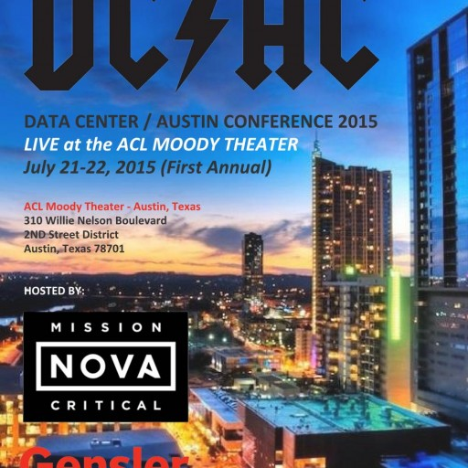 "The First Annual ""Data Center Austin Conference"": Awesome Venue - New Partners - New Format - Great BBQ - Live Music"